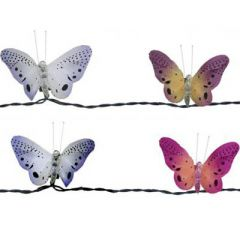 Fiber Optic Butterfly Light String
