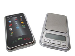 iPhone Style - Digital Pocket Scale
