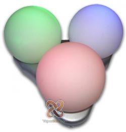 3 Ball Color Changing Decor - Rechargeable