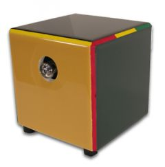 Hot Box Herbal Vaporizer - Rasta Color Tile