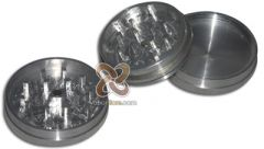 Three Piece Magnetic Herbal Grinder with Secret Stash Compartment